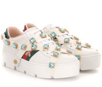 Sneakers New Ace aus Leder