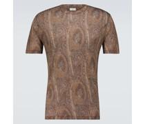 Short-sleeved patterned T-shirt