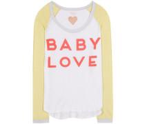 Longsleeve Baby Love aus Baumwolle