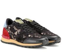 Garavani Sneakers Rockrunner mit Spitze