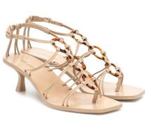 Sandalen Ziba aus Leder