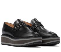 Plateau-Loafers Baldie aus Leder