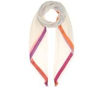 Schal Quadrata Rainbow aus Cashmere und Seide
