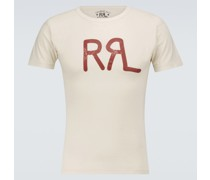 Logo T-Shirt aus Baumwolle