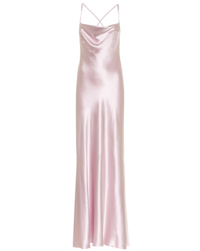 Robe Whiteley aus Seidensatin