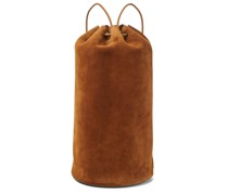 Rucksack Massimo aus Veloursleder