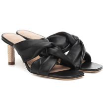 Sandalen Les Mules Bellagio aus Leder