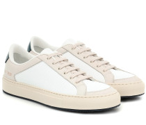 Sneakers Retro Low 70s aus Leder
