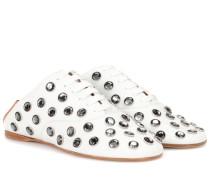 Schnürschuhe Mika Stone aus Leder