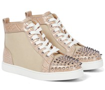 Sneakers Lou Spikes aus Canvas