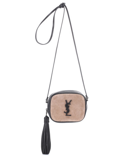Tasche Classic Monogram aus Veloursleder