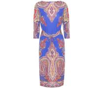 Bedrucktes Kleid aus Twill