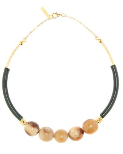 Halskette mit Horn