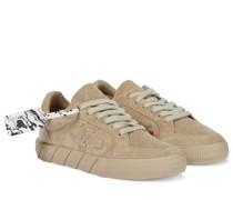 Sneakers Low Vulcanized aus Veloursleder