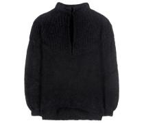 Pullover aus einem Mohair-Wollgemisch
