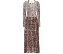 Kleid Tilden mit Leopardenprint