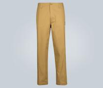 Hose Side Slack aus Stretch-Baumwolle