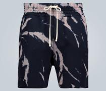 Batik-Shorts Yacht aus Baumwolle