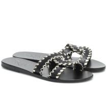 Sandalen Desmos Stitch aus Leder
