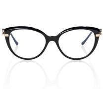 Cat-Eye-Sonnenbrille Panthère de Cartier