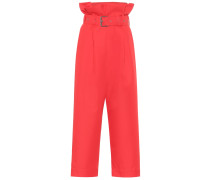 High-Rise Cropped Hose