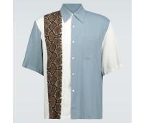 Kurzarmhemd mit Print