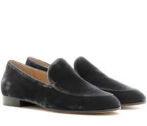 Loafers Marcel aus Samt