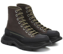 High-Top Sneakers aus Canvas