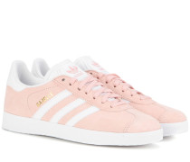 Sneakers Gazelle aus Veloursleder