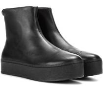 High-Top-Sneakers Cici aus Leder