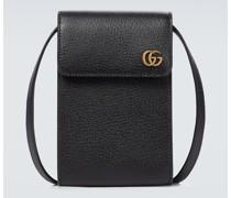 Messenger Bag GG Marmont aus Leder