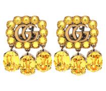Clip-Ohrringe GG mit Kristallen