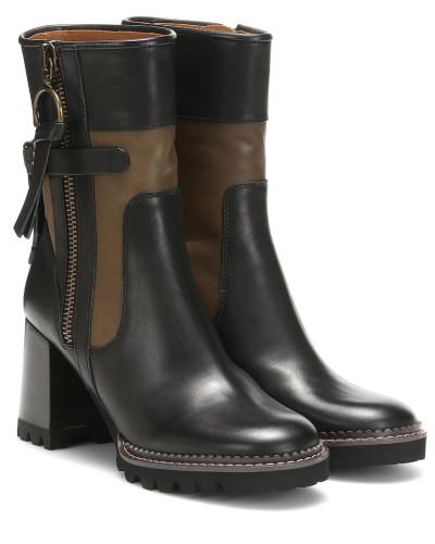 Ankle Boots Bryn aus Leder