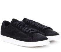 Sneakers Blazer Low aus Veloursleder