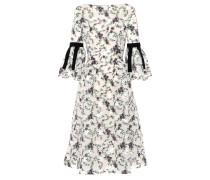 Kleid Aleena aus Organza mit Fil-Coupé