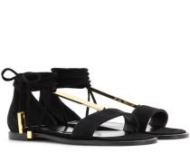 Sandalen Blondie aus Veloursleder