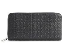 Portemonnaie Zip Around aus Leder