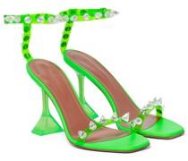 Verzierte Sandalen Julia aus Leder