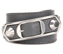 Armband Classic Metallic Edge aus Leder