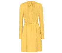 Kleid aus Wolle und Seide