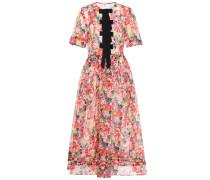 Bedrucktes Kleid Seneca aus Seide