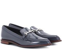 Loafers Double T aus Lackleder