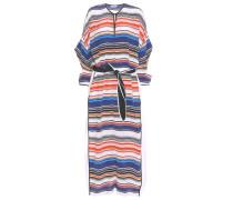 Kaftan-Kleid aus Seide