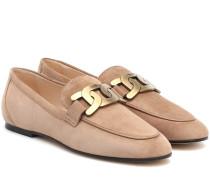 Loafers Kate aus Veloursleder
