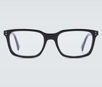 Eckige Brille aus Acetat
