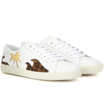 Verzierte Sneakers Signature Court Classic SL/06 Sea, Sex & Sun