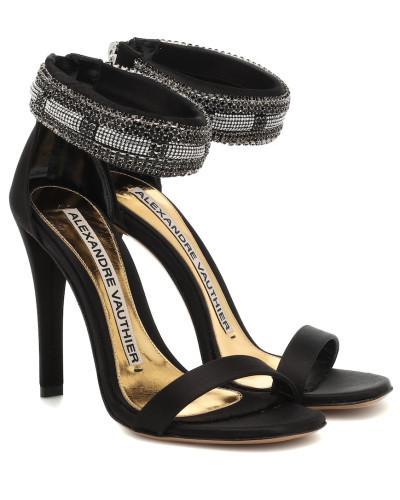 Sandalen Nina aus Satin
