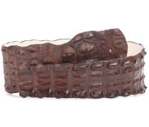 Gürtel aus Krokodilleder