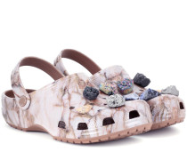Crocs mit Schmucksteinen