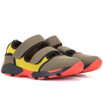 Sneakers aus Neopren und Mesh